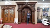Europäische Messe für Denkmäler Restaurierung und Restaurierung alter Denkmallgebäude in Leipzig