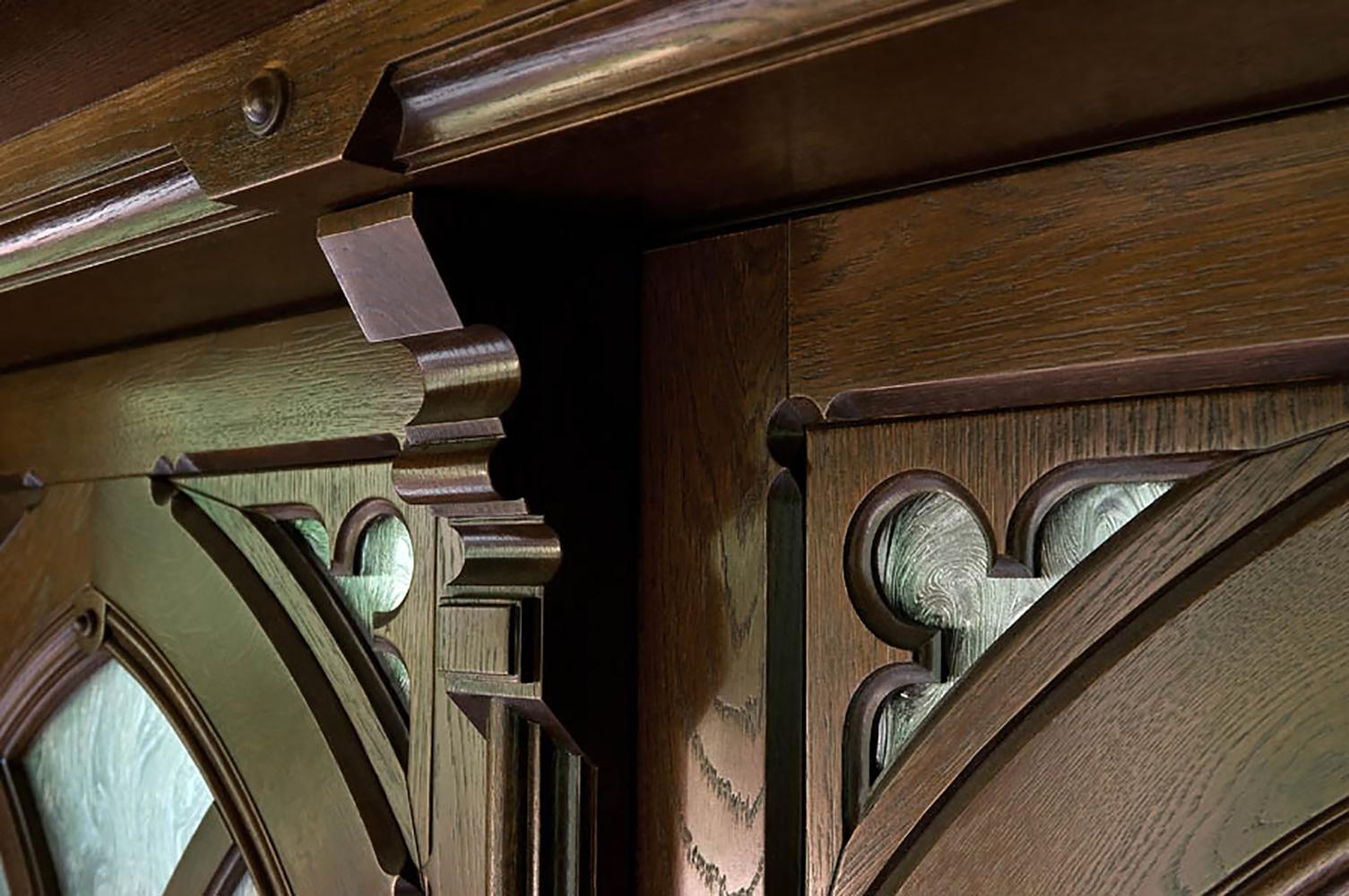 zurück zur gotik - drzwi drewniane wewnętrzne i zewnętrzne, Schlafzimmer entwurf